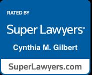 Cynthia M. Gilbert Super Lawyers Badge
